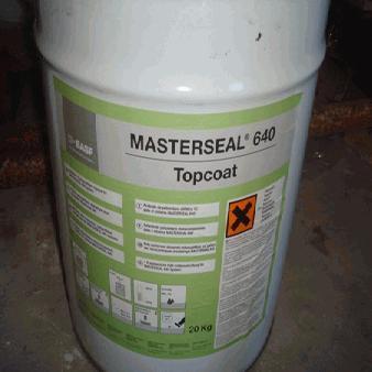 Masterseal 640 Topcoat - Basf