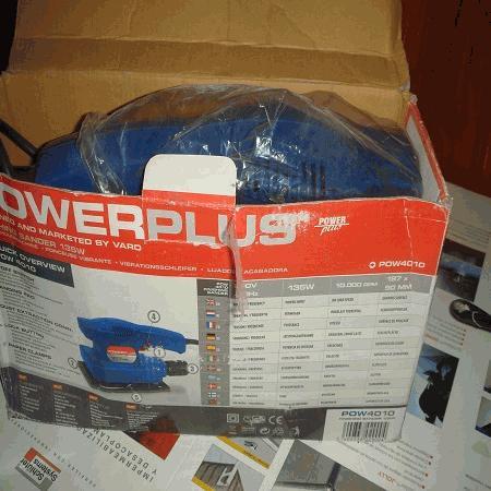 Lixadeira Eléctrica Power Plus POW4010
