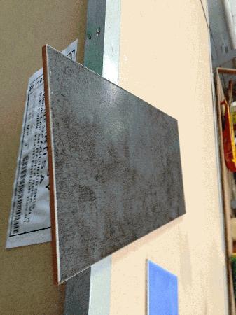 Azulejo 15x45cm Avenir Negro mate