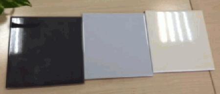 Azulejo 15x15cm brilho e mate