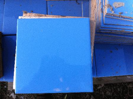 Azulejo 15x15 Azul Estaco