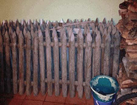Vedação de madeira