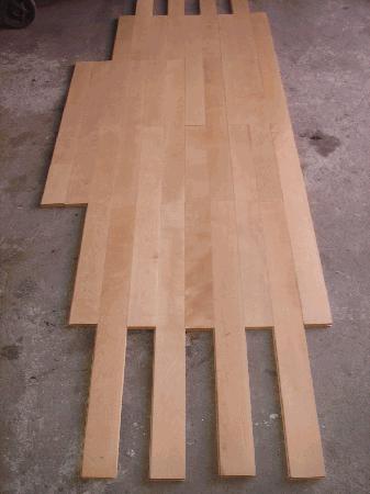 Soalho lamparquet em madeira exótica - 80 m2 - 100cm (comprimento) x 9cm (largura) x 2cm (espessura)