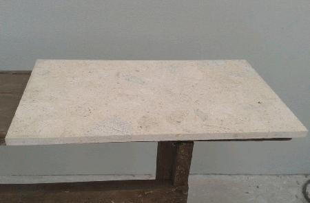 Mosaicos em mármore moleanos rectificados