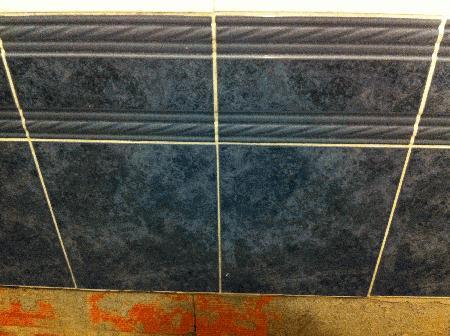 Azulejo mosaico Grespania azul