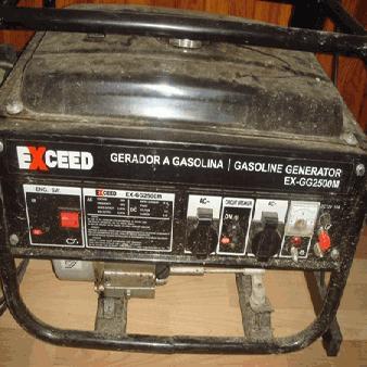 Gerador ref.ª EX-GG2500M - EXCEED